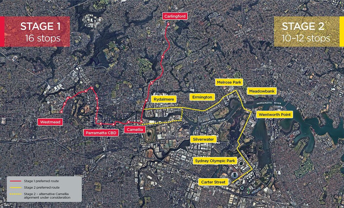 Parramatta Light Rail Stage 2 route. htt...