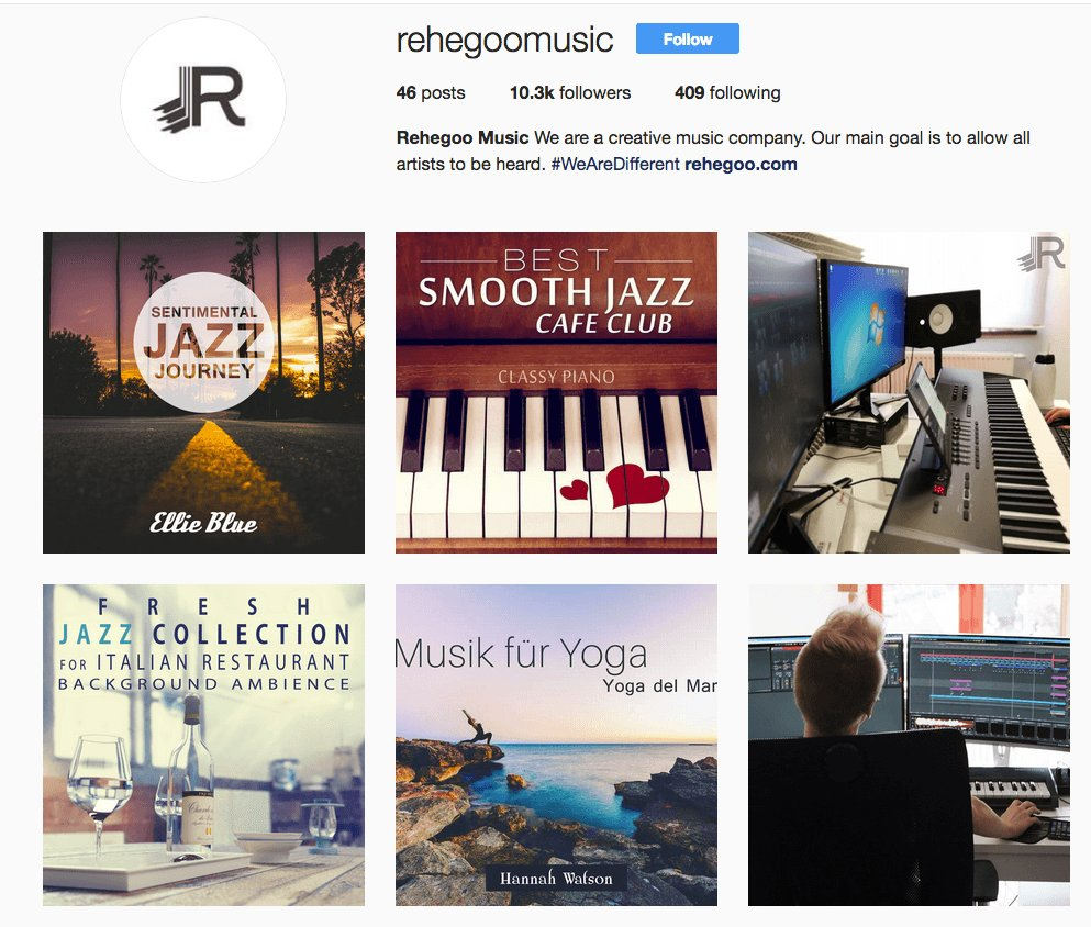 Plenty of #pictures on new #RehegooMusic #instagram! Take a look how they #work there and #listen to their #music!  https://www. instagram.com/rehegoomusic  &nbsp;  <br>http://pic.twitter.com/4C59CO2xUX