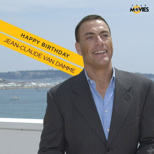 Happy birthday to the man with fists of fury; the mercurial Jean-Claude Van Damme!