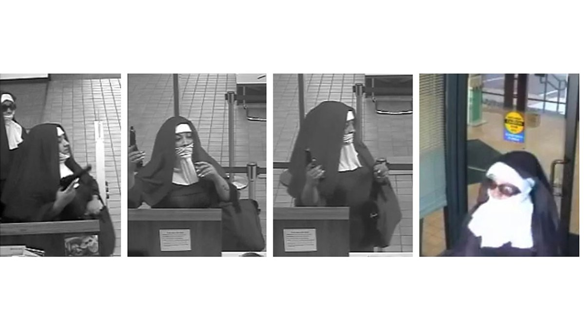 'Nuns' with guns charged in bank robberies, officials say: https://t.co/Pl0NkPOGoG
