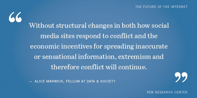 Some experts say the online social climate will stay bad because economic & political incentives support trolling https://t.co/Mdg9tE2y18