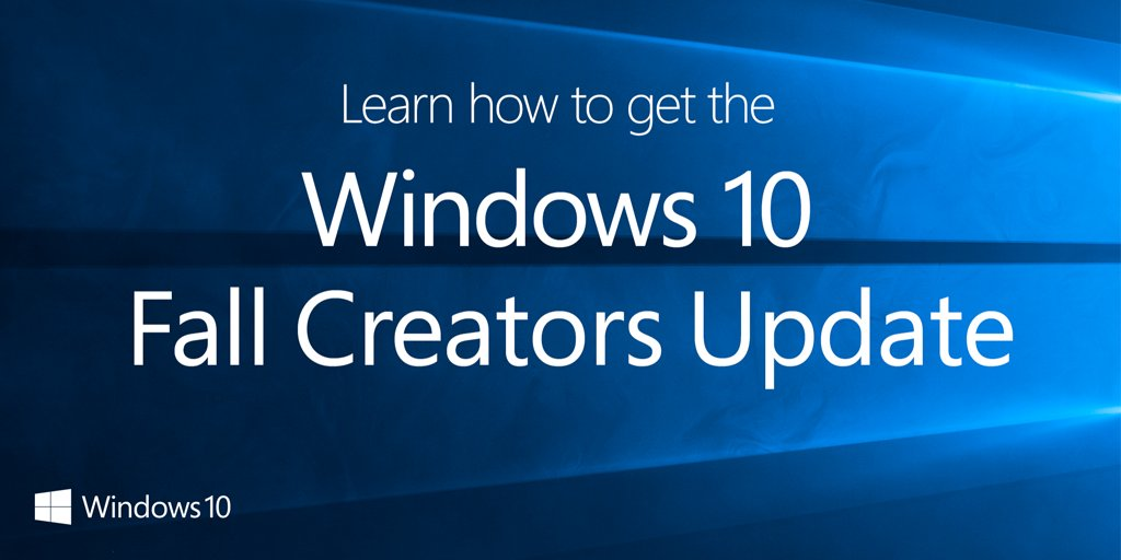 Learn how to get the #Windows10 Fall Creators Update https://t.co/uCjSFZtX82