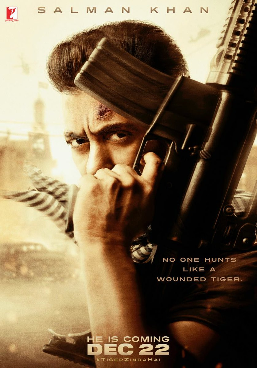 INCREDIBLE #TigerZindaHai first look poster...@BeingSalmanKhan is gonn...