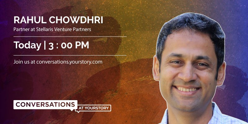 Join us today and ask @rchowdhri questions on venture #investing, #strategy consulting, #productmanagement &amp; more  https:// conversations.yourstory.com/ama/lyojcoal/R ahul%20Chowdhri%20is%20a%20Partner%20at%20Stellaris%20Venture%20Partners/preview &nbsp; … <br>http://pic.twitter.com/Lynyp8hNIa