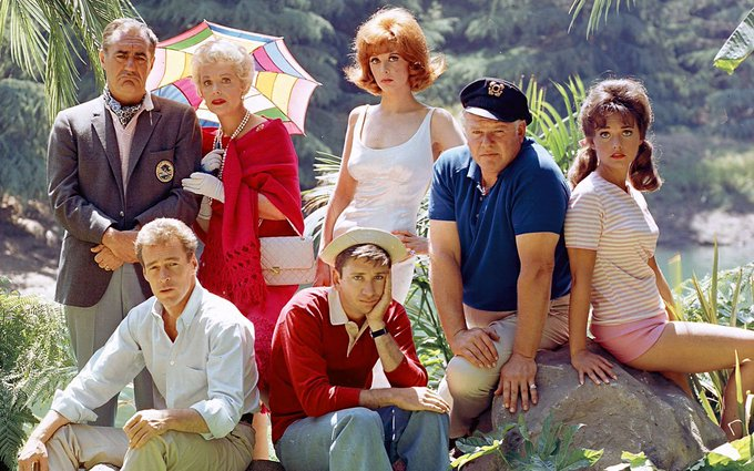 Happy Birthday to Dawn Wells(far right, sitting on rock) who turns 79 today!