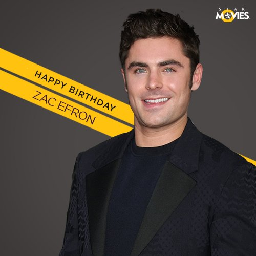 Remember, Just take a chance! A very happy birthday to the dreamy Zac Efron!