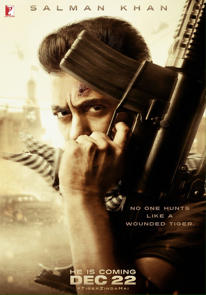 @TigerZindaHai bhai is back to doing what he does best!! @BeingSalmanK...