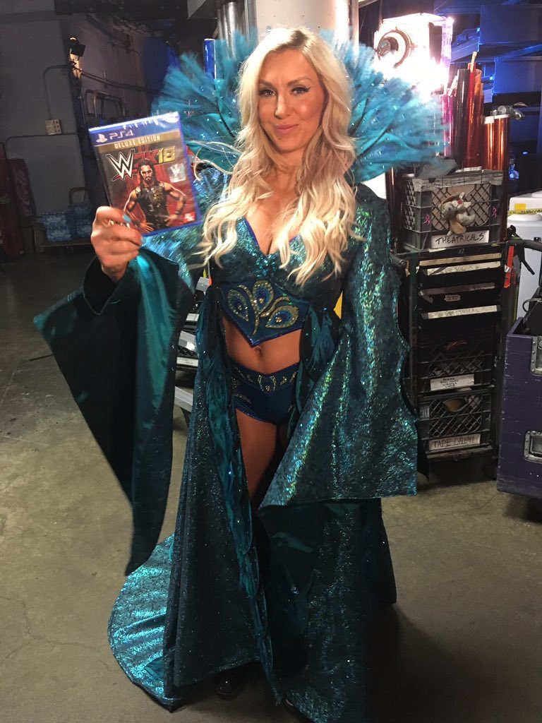 Now I have my own copy  Do you?!?! @WWEgames #sdlive #WWE2K18<br>http://pic.twitter.com/FZGVdgZgDO