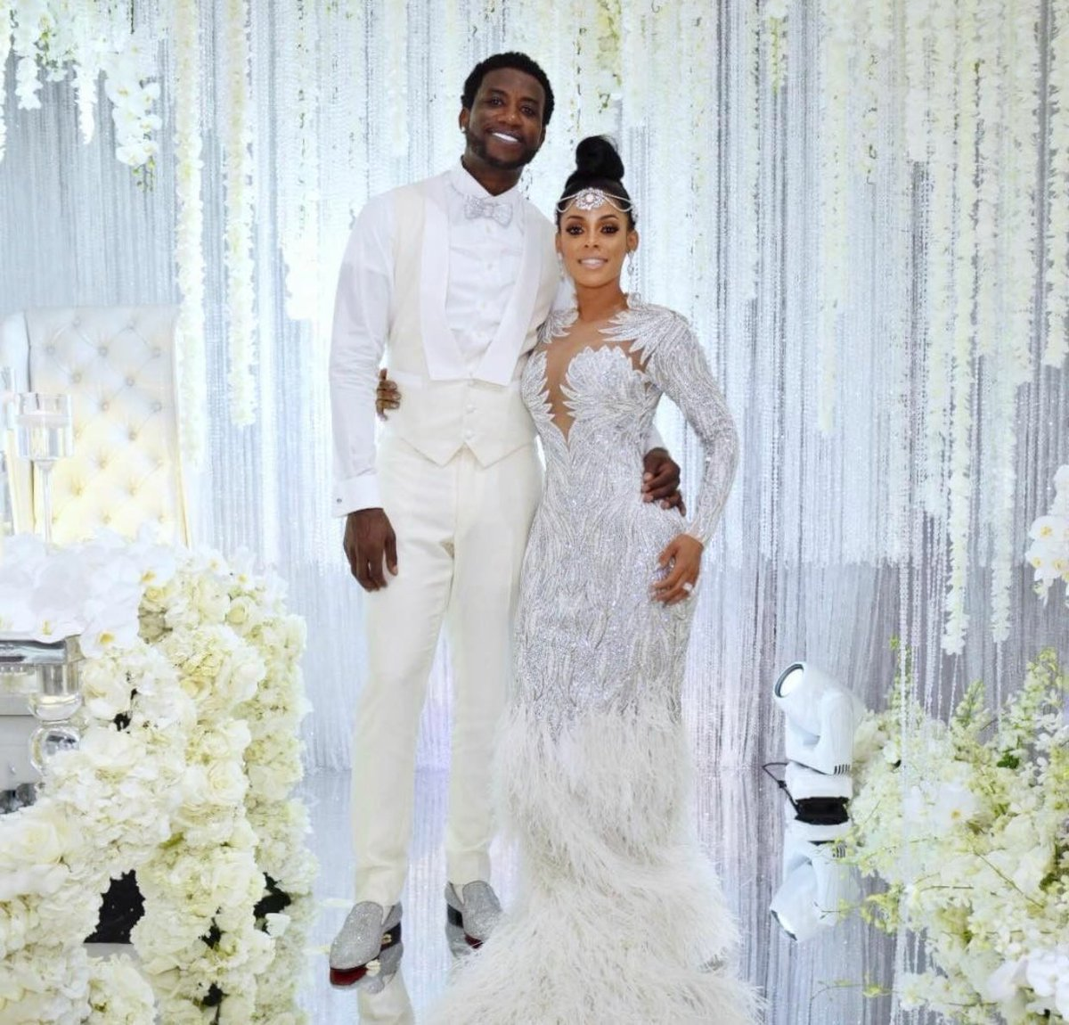 Fans watched Gucci Mane and Keyshia Ka\'oir get married 😍