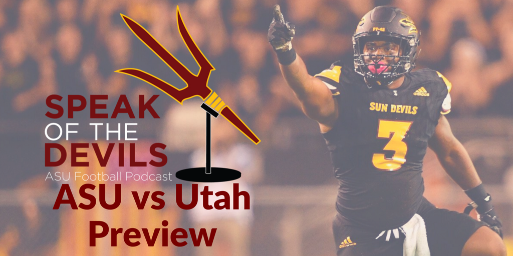 NEW @SotDPodcast: We review the upset of No. 5 Washington, talk w/ #ASU DL coach @mlslater, & preview the Utah game https://t.co/0lkFqoEbCa