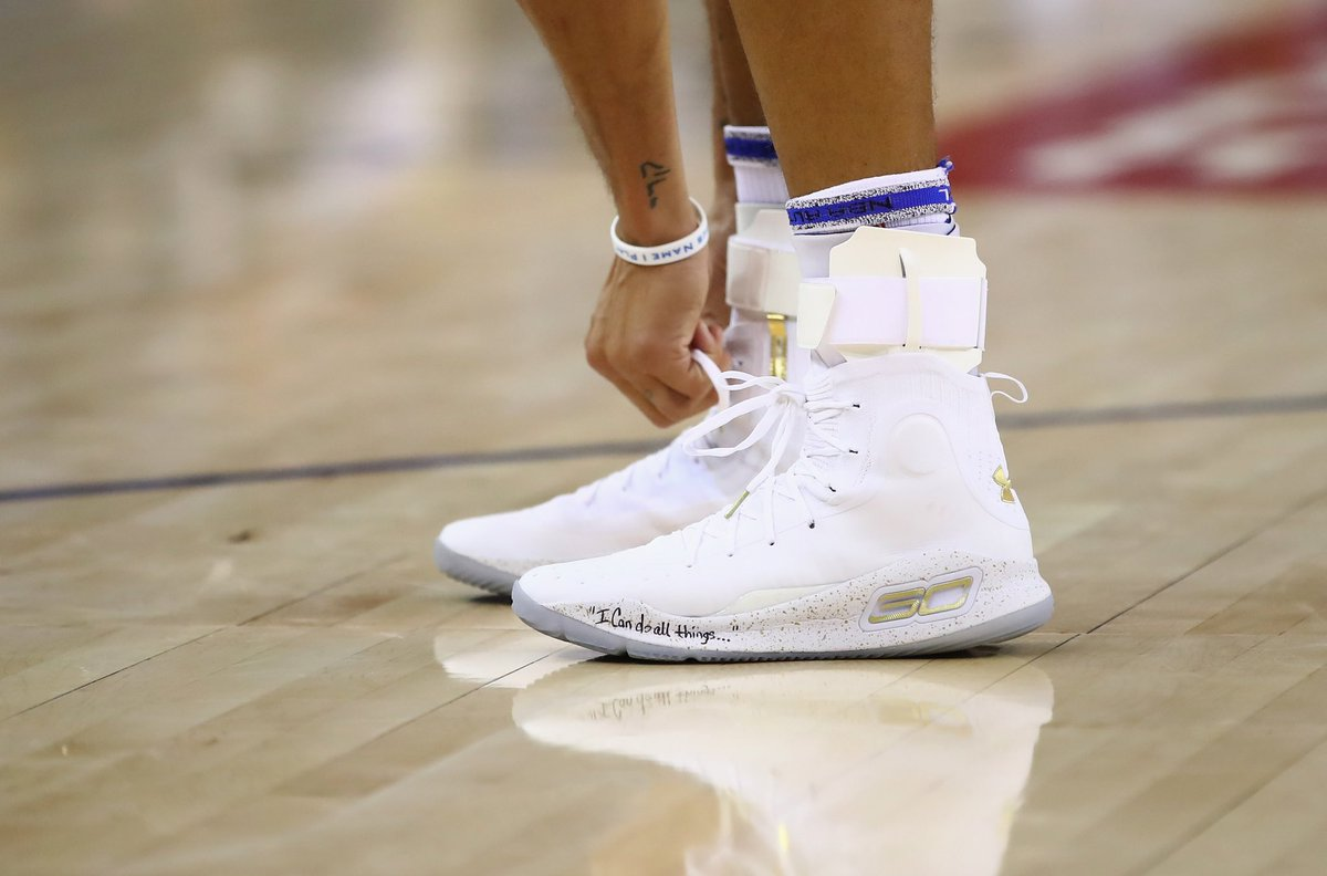 df1597b7a9ed stephen curry in the under armour curry 4 more rings championship pack vs  houston