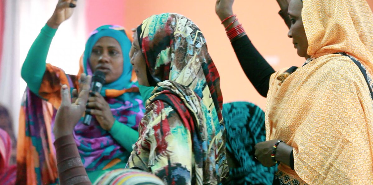 "#UNAMID &amp; #UNDP led  #UNDF #FaST Return project held a workshop in AlFashir 4 traditional lady singers ""Hakkamat"" 2 promote peace in #Darfur<br>http://pic.twitter.com/L4s8o6mxQU"