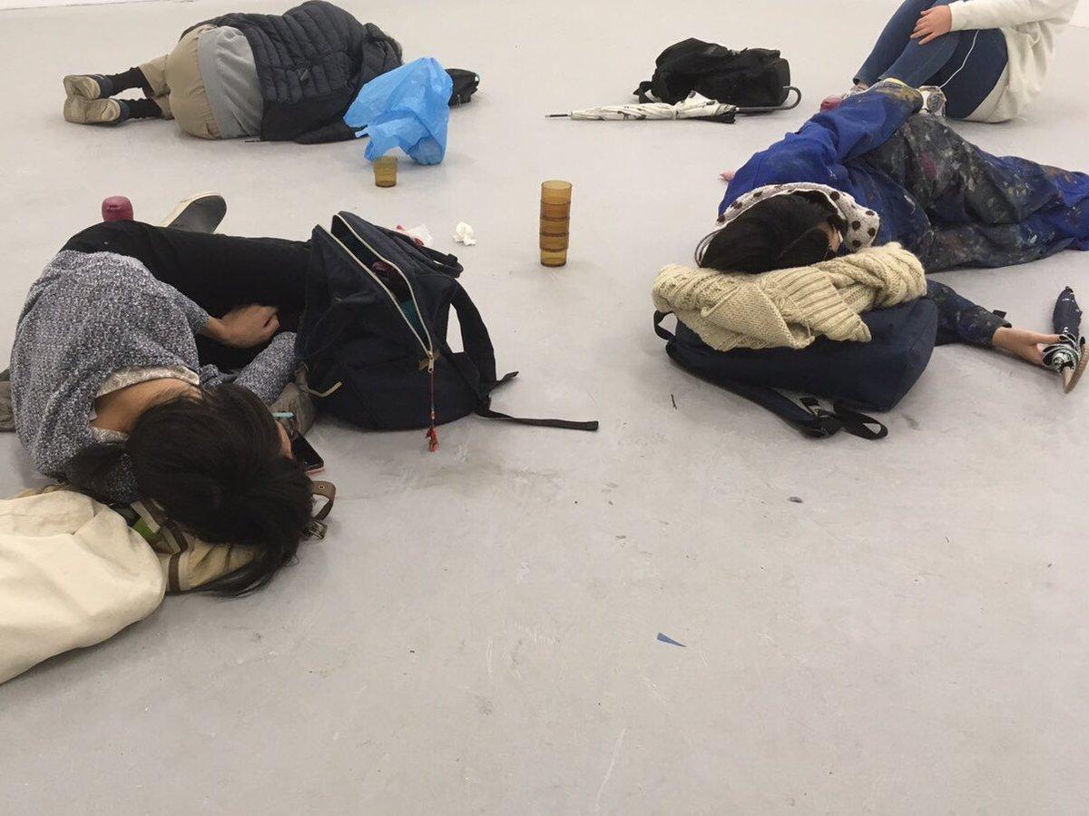 美大生睡眠シリーズ