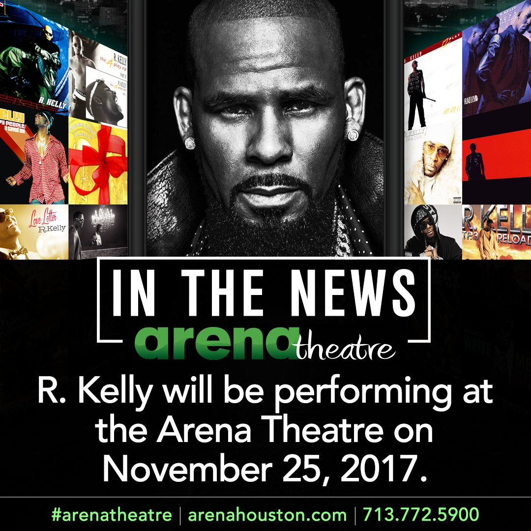 RT @arenatheatre: R. Kelly tickets are now on sale: https://t.co/5QxSTbFCP5 #Houston @rkelly https://t.co/83eNX5cpTP