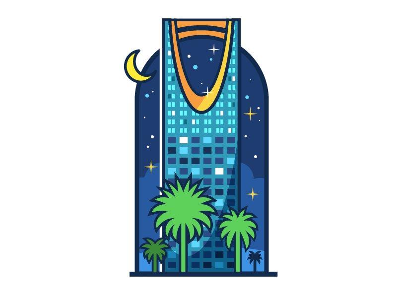 Illustrator Sa Auf Twitter درس رسم برج المملكة سهل و بأشكال أساسية وخطوات سهلة Https T Co Zcpdw1nnr2