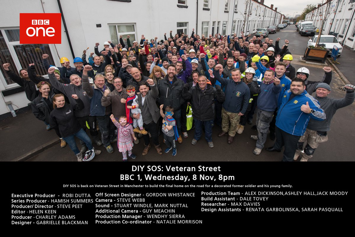 Rtc On Twitter Don T Miss A Special Edition Of Diy Sos The Build To Be Shown Bbc1 Wednesday 8th November 2017 At 8pm