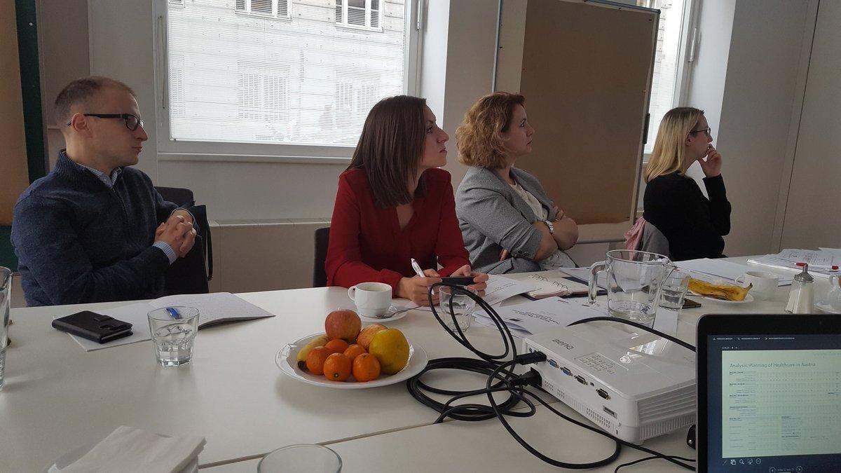 #EUTaiex Study Visit regarding the Development of a new E-Health Strategy for #FYRM at Austrian National Public Health Institute GÖG<br>http://pic.twitter.com/C3n0GQuYiZ