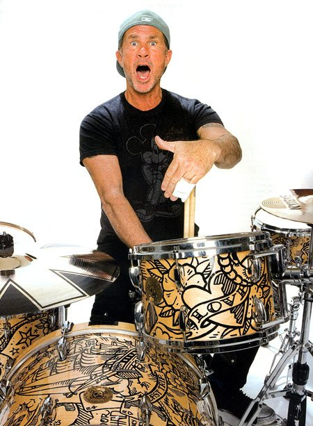 Happy Birthday Chad Smith kick off lunch today at noon