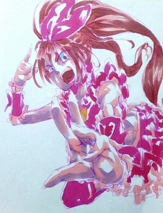 キュアオーガ@ALIVE大阪お疲れ様 (@EurobeatDaisuki)さんのイラスト