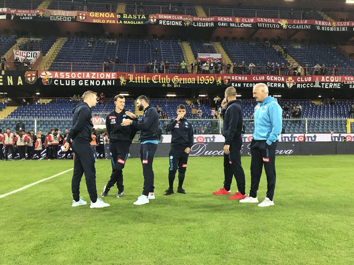 Napoli-Inter, supersfida per un posto in prima fila Sarri col dubbio Insigne