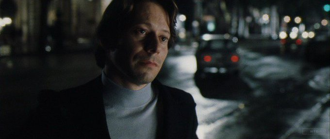 New happy birthday shot What movie is it? 5 min to answer! (5 points) [Mathieu Amalric, 52]