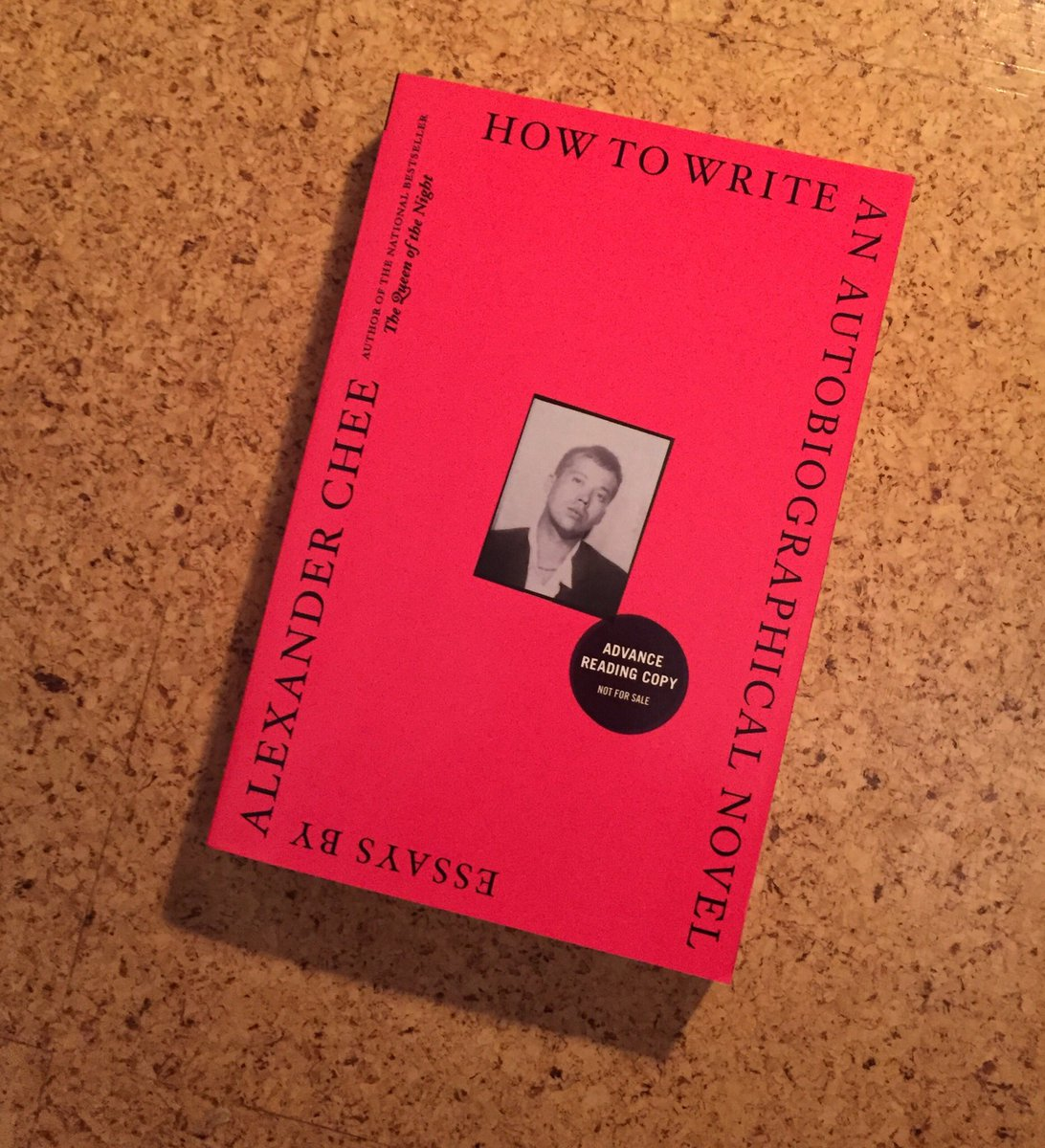Alexander Chee On Twitter My Essay Collection How To Write An  Alexander Chee On Twitter My Essay Collection How To Write An  Autobiographical Novel Is Available For Preorder Now English Literature Essays also High School Entrance Essays Example Of Thesis Statement In An Essay