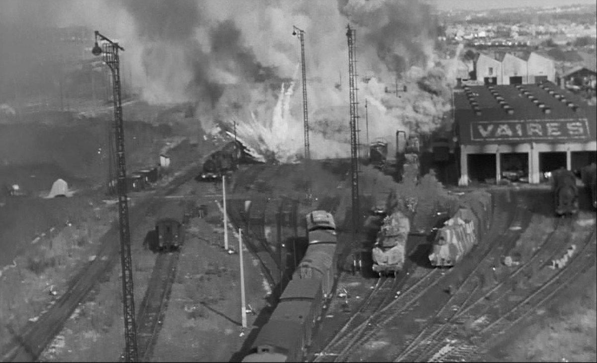 """いまゆりりん ar Twitter: """"『大列車作戦』1964(米) フランケンハイマ ..."""