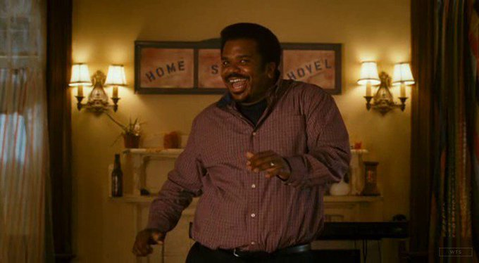 New happy birthday shot What movie is it? 5 min to answer! (5 points) [Craig Robinson, 46]