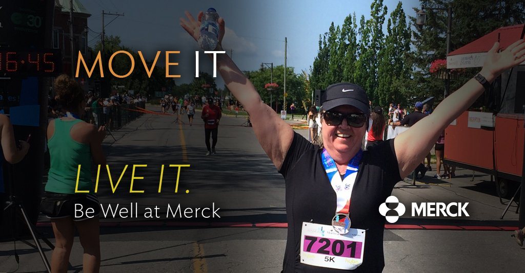 Merck Canada On Twitter Congrats To Manon Who Completed Her 2nd 5k