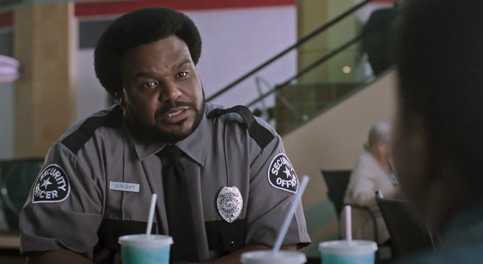 Happy Birthday Craig Robinson, currently starring in GHOSTED!