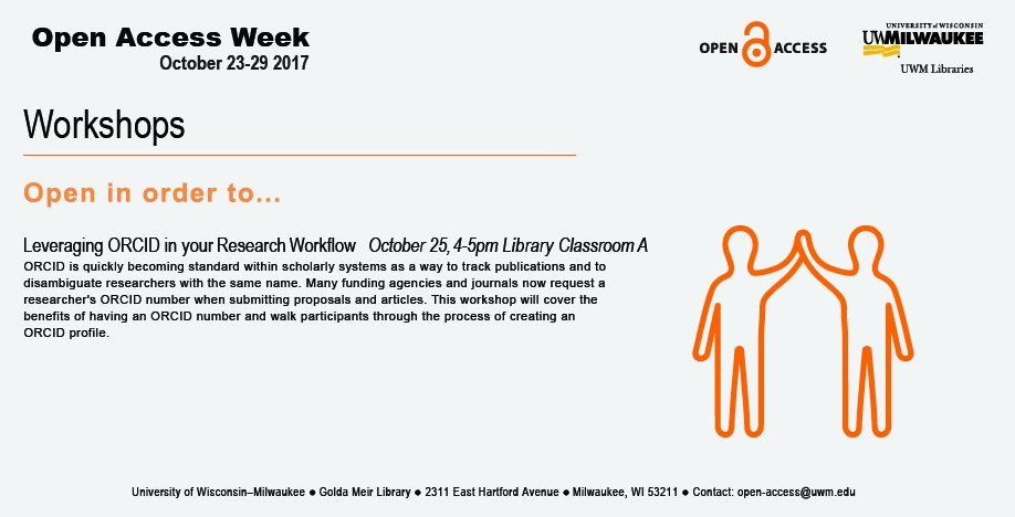 University Of Wisconsin Leverages Its >> Uwm Libraries On Twitter Openinorderto Maximize Your Impact As An