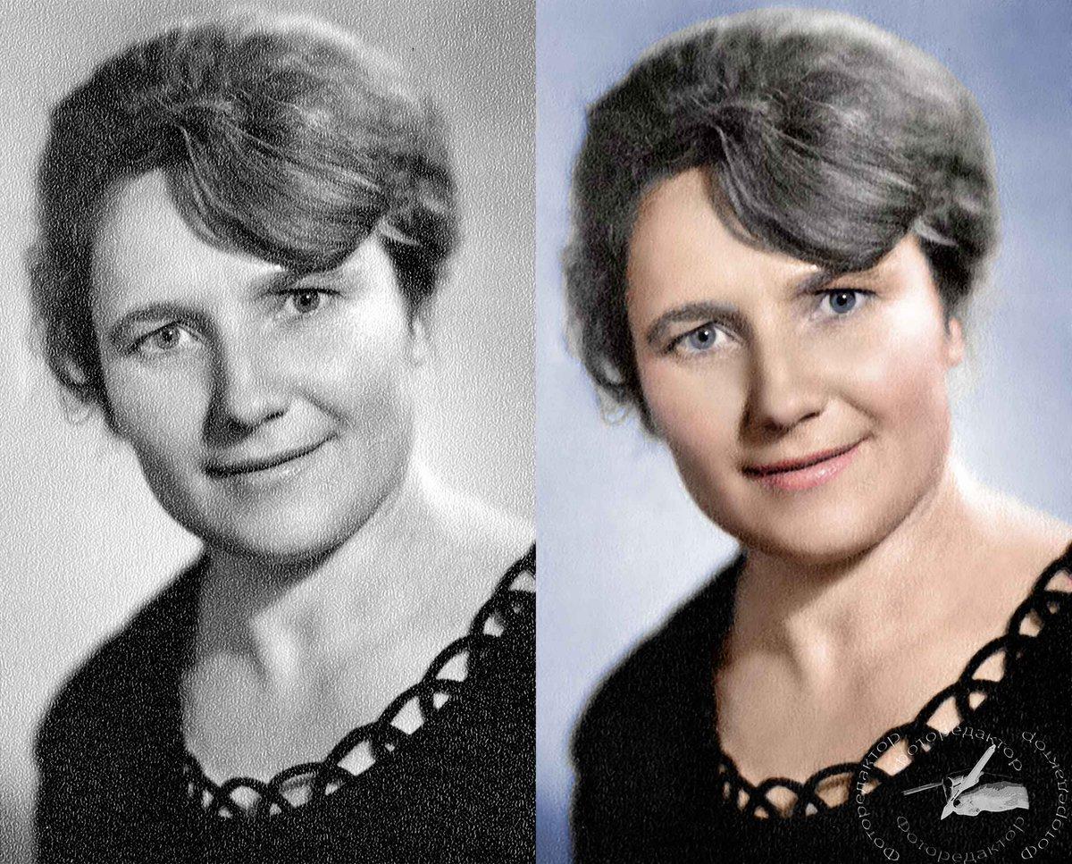 Реставрация и раскраска фотографий