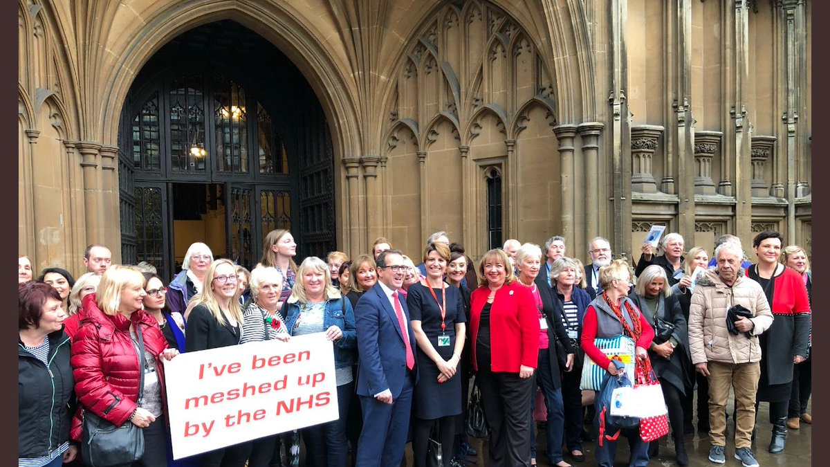 Thank you to all cross party MP&#39;s who gave voice to their constituents today. #mesh #is #high #risk<br>http://pic.twitter.com/blAgtChivr