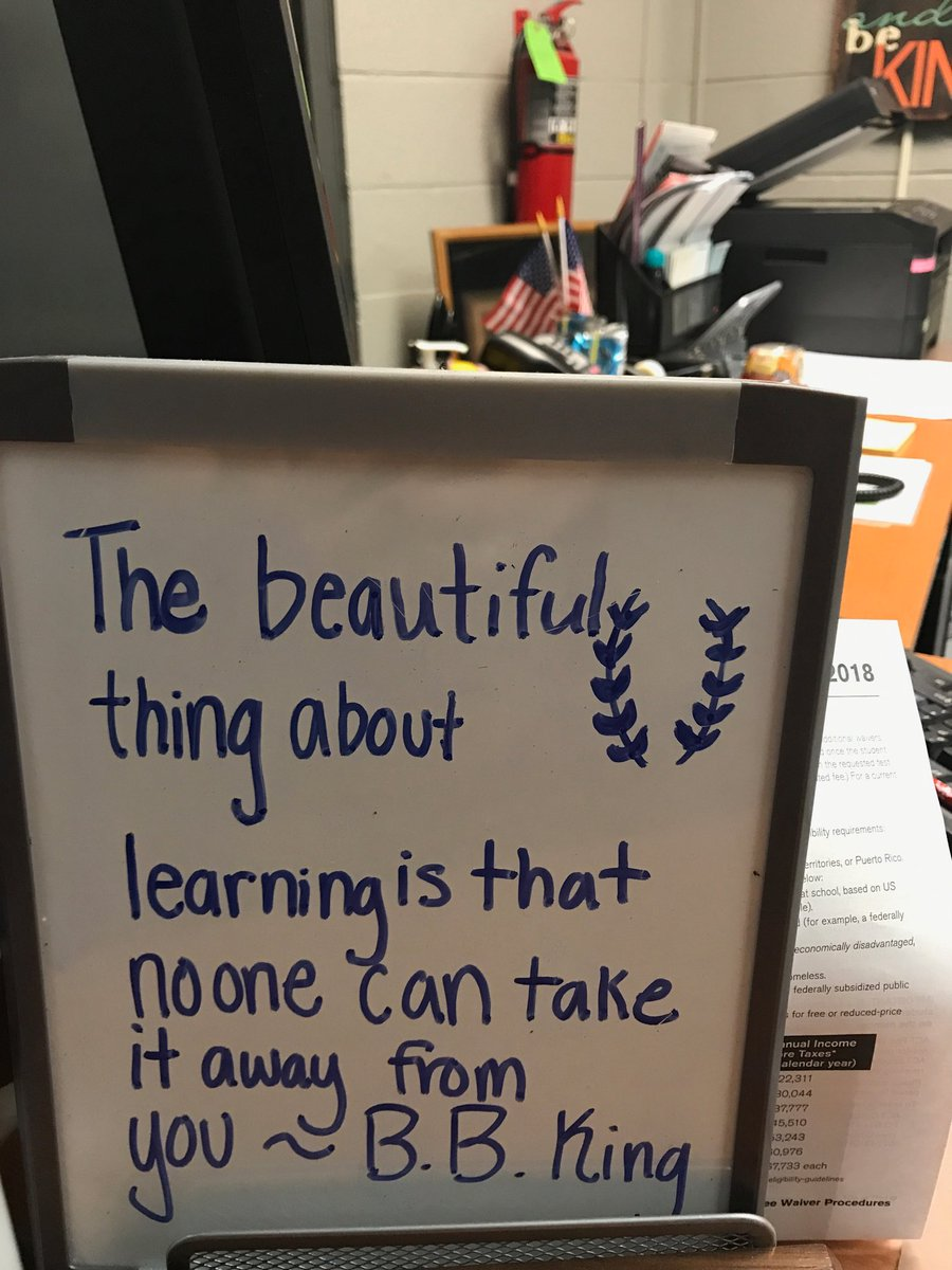 So true! Hope all @DCcougarnation students have a great day of #learning on the hill. <br>http://pic.twitter.com/8HCuL5ByL2
