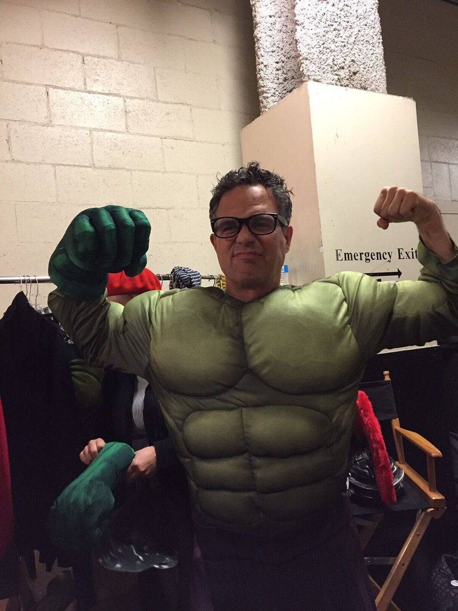 Who&#39;s going as the #Hulk  for Halloween? @JKCorden<br>http://pic.twitter.com/f0ESdK2QLE