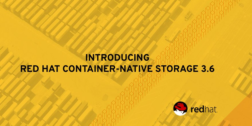 The move to #container-based apps brings challenges to existing #storage architectures. Enter @RedHatStorage:  http:// red.ht/2yrX5df  &nbsp;  <br>http://pic.twitter.com/oqYu4BFAAq