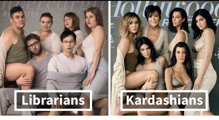 This Is What Happens When #Librarians Do Kardashian-Inspired Photoshoot. Flawless.  https://www. boredpanda.com/library-social -media-team-librarians-kardashians-photoshoot/?utm_source=facebook&amp;utm_medium=link&amp;utm_campaign=BPFacebook &nbsp; … <br>http://pic.twitter.com/HPhXed80ey