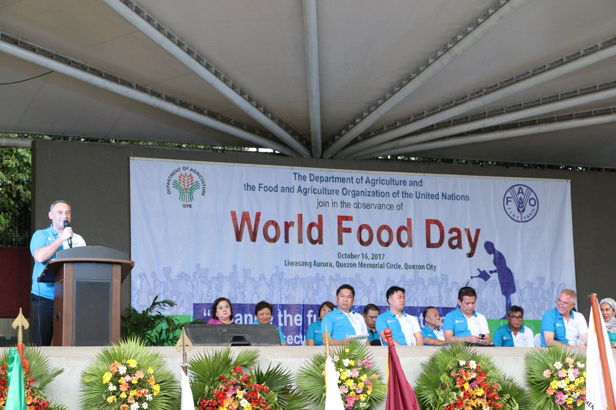 World Food Programme Philippines On Twitter Yesterday Wfp Participated In The World Food Day Celebration With The Department Of Agriculture And Faophilippines Https T Co Ifdtlyokid Https T Co Bj85nd9y4y