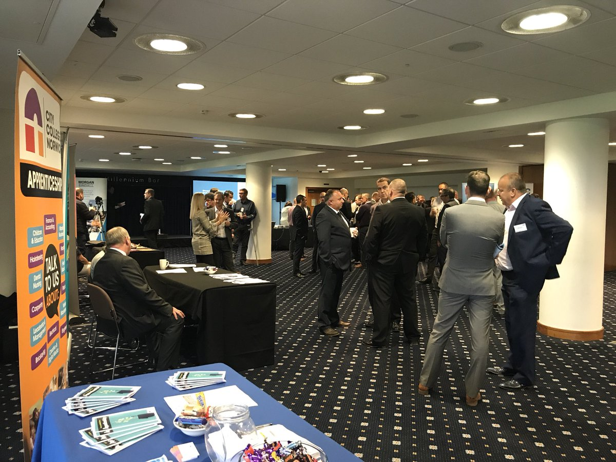@norwichcollege @ApprenticeCCN busy talking #construction #engineering #management #business apprenticeships @morgansindall supplier event<br>http://pic.twitter.com/Ty8fR9ZWt3