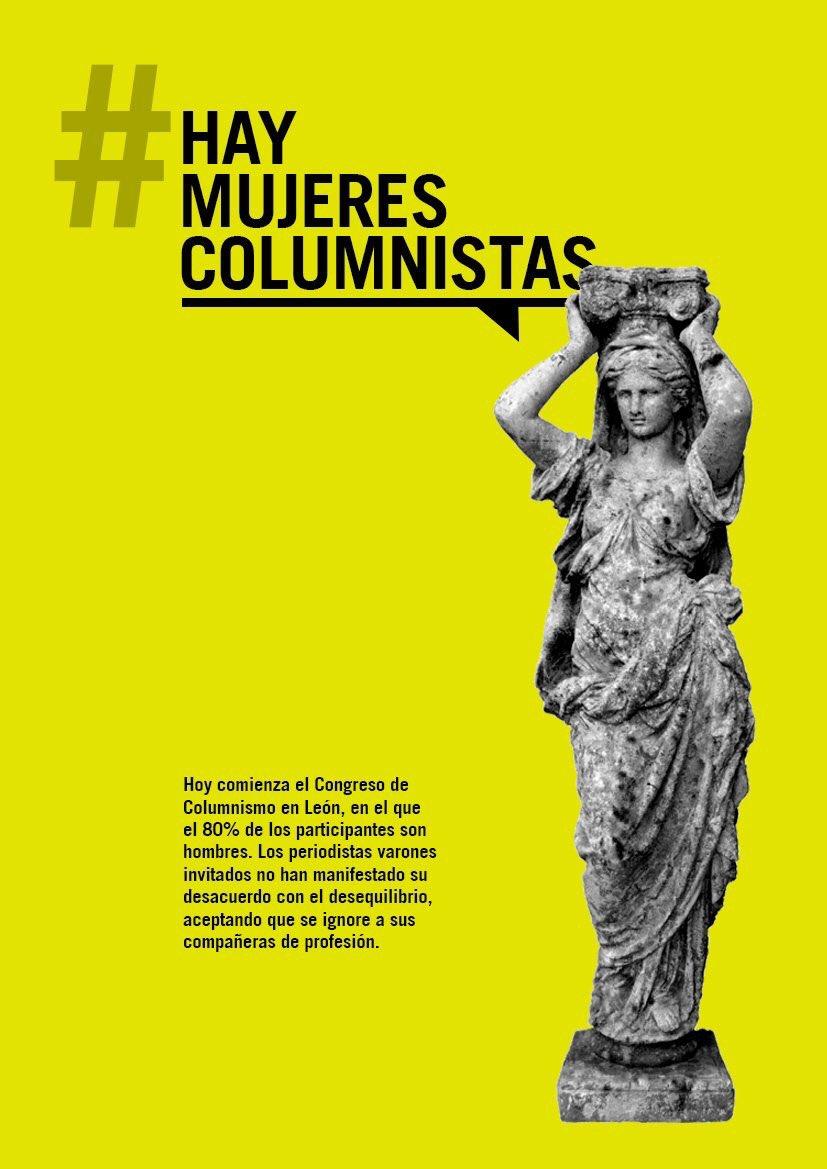 #Leocolumnas, claro. #HayMujeresColumnistas y no vamos a dejar de reiv...