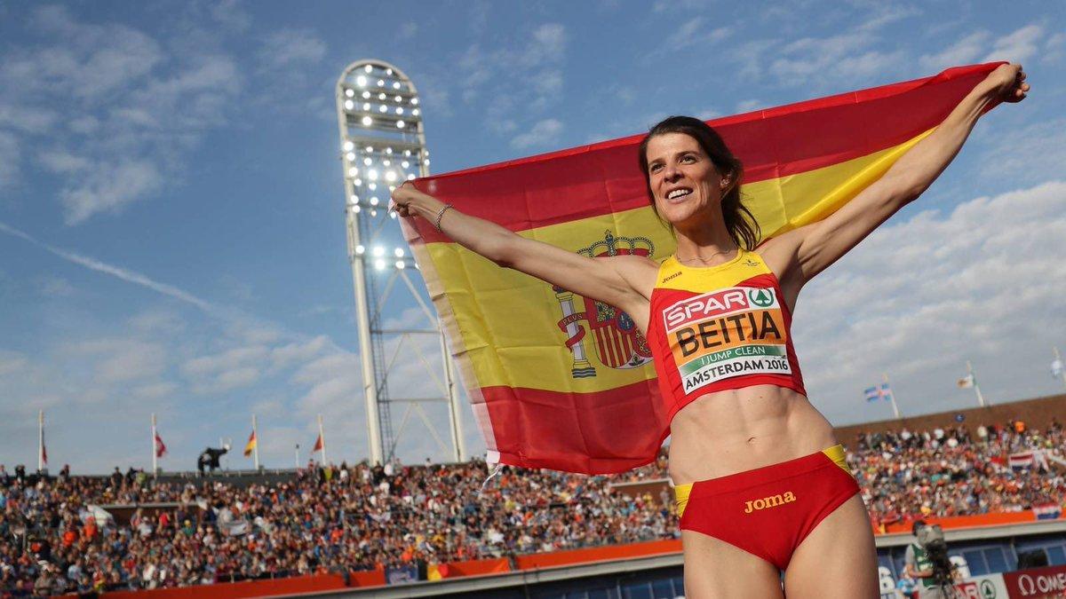 OFICIAL | La saltadora de altura Ruth Beitia, anuncia su retirada a lo...