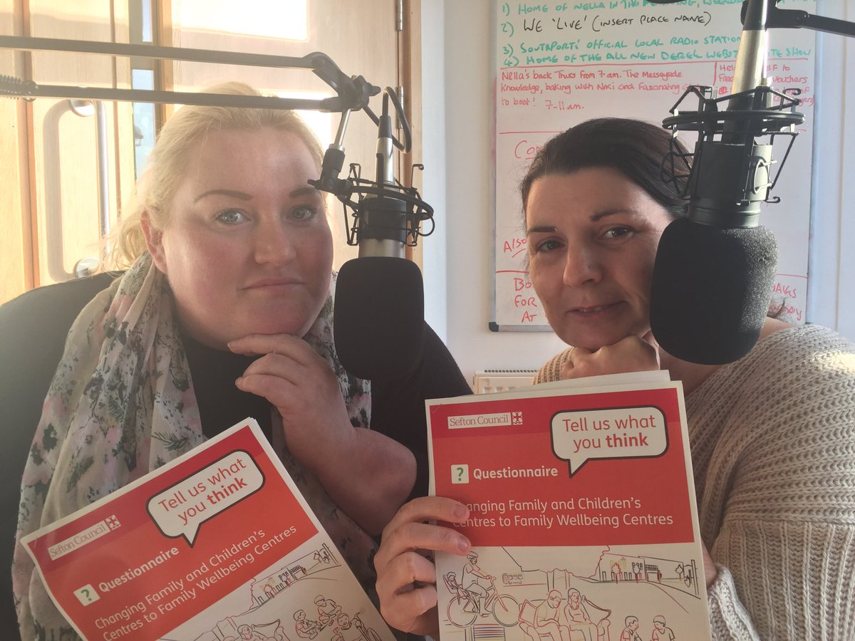 Local #Southport Mums Katie &amp; Emma tell NELLA about fears over the future of Children's Services in #Sefton Consultation ongoing.<br>http://pic.twitter.com/u1ytrTbEpF
