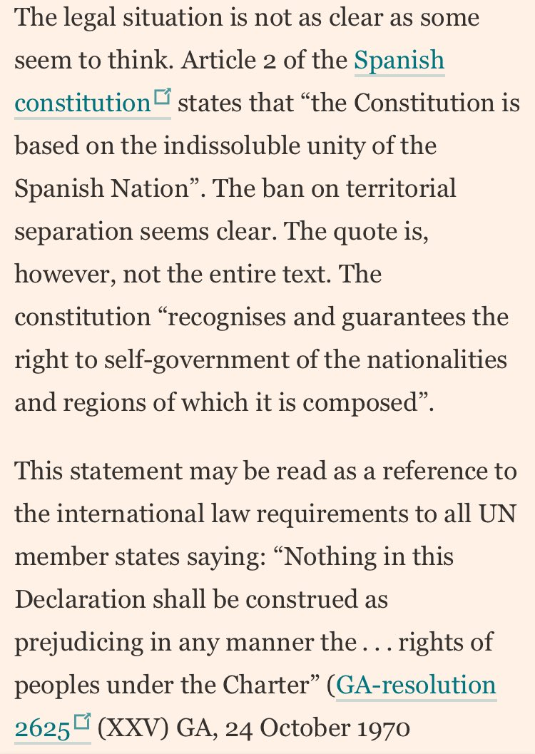 Interesting FT letter: Catalonia's legal situation is nuanced https://...