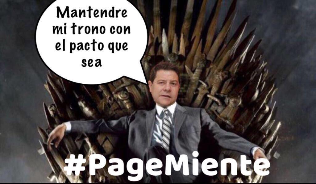 A mí me preocupa mi sillón. Menudo juego de tronos. #PageMiente https:...
