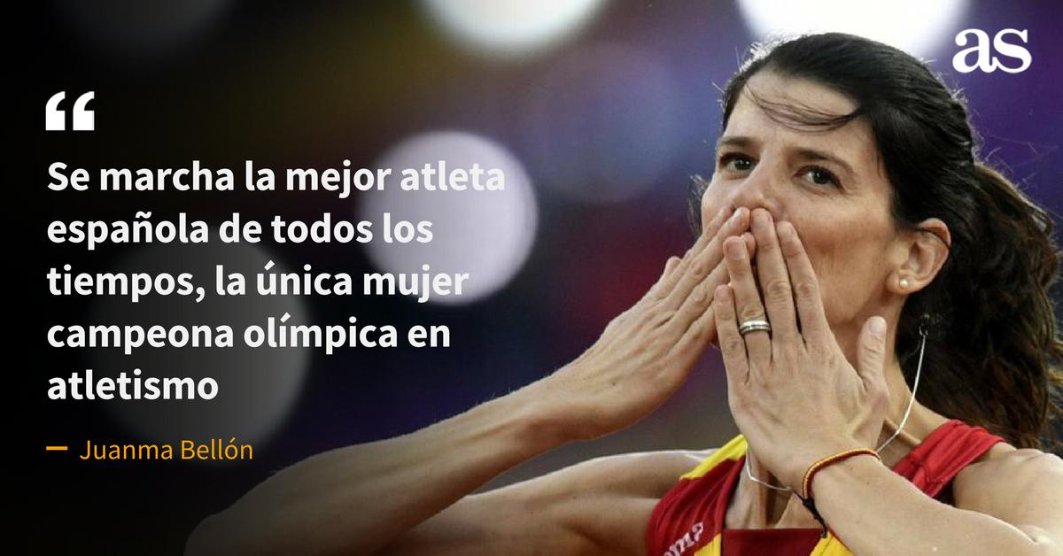 Con Ruth Beitia se va una atleta irrepetible, la opinión de @juanmacor...