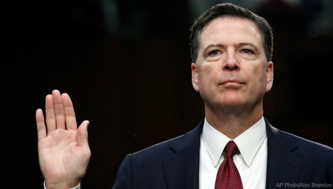 @TGowdySC #Comey committed perjury in front of Congress and the American people.  He must be held accountable! #WednesdayWisdom #ComeyMemo<br>http://pic.twitter.com/xc9qqhzKw3
