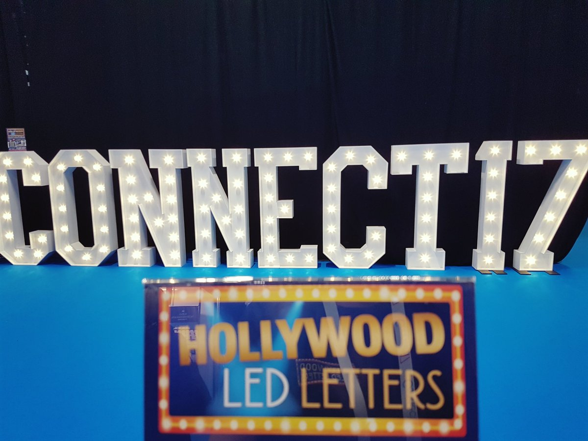 Day 2 #connect17 #hollywoodledletters #connectshowcase Have your pic taken in Hall2 with our #giantledlights @LEDle… HaveASnickers  <br>http://pic.twitter.com/02vX2mUQ9B