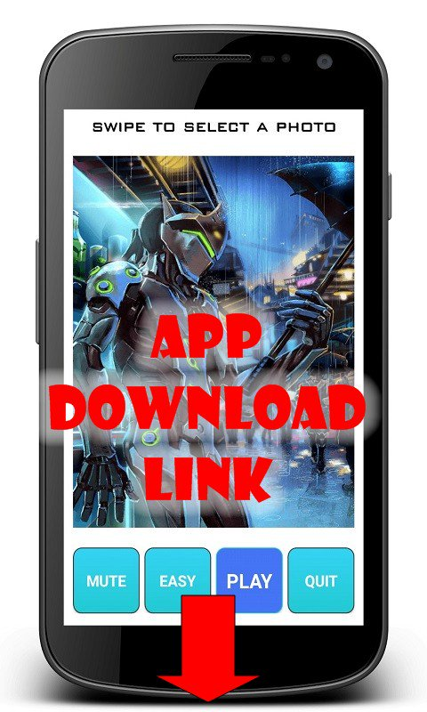 Overwatch Puzzle App Game for Android free download apk jigsaw