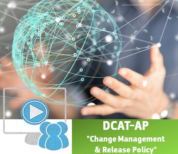 #DCATAP WEBINAR IS TOMORROW!! Check out the draft summary of the Change #Management &amp; Release #Policy!  http:// europa.eu/!du97wb  &nbsp;  <br>http://pic.twitter.com/Gfk7pelSqW