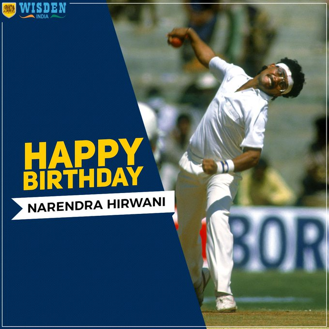 His 16/136 are the best figures for a debutant in tests, Happy Birthday Narendra Hirwani!